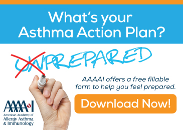Ad TalkingAsthma AAAAI Download Offer